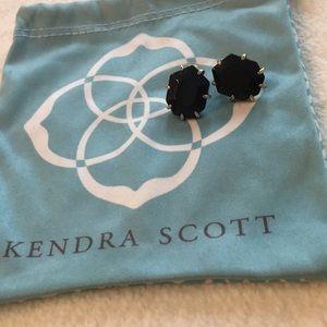 Kendra Scott black stud earrings